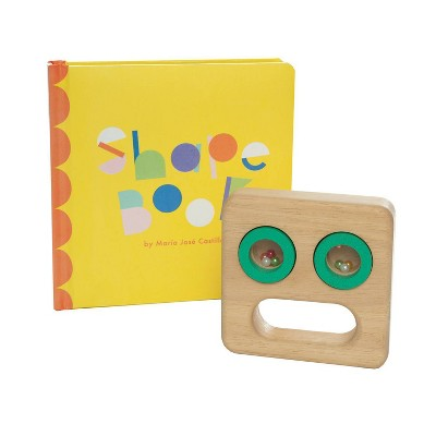 The Manhattan Toy Company Musical Set - Shape Book + Musical Toy