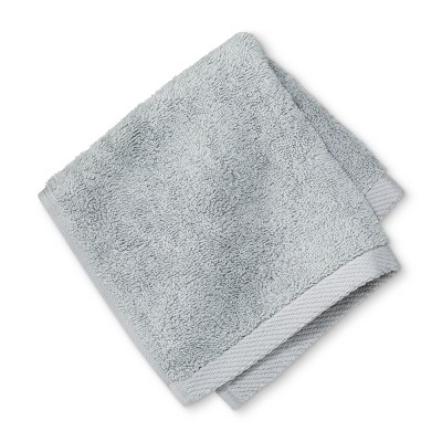 Solid Washcloth Drizzle Gray - Project 62™ + Nate Berkus™