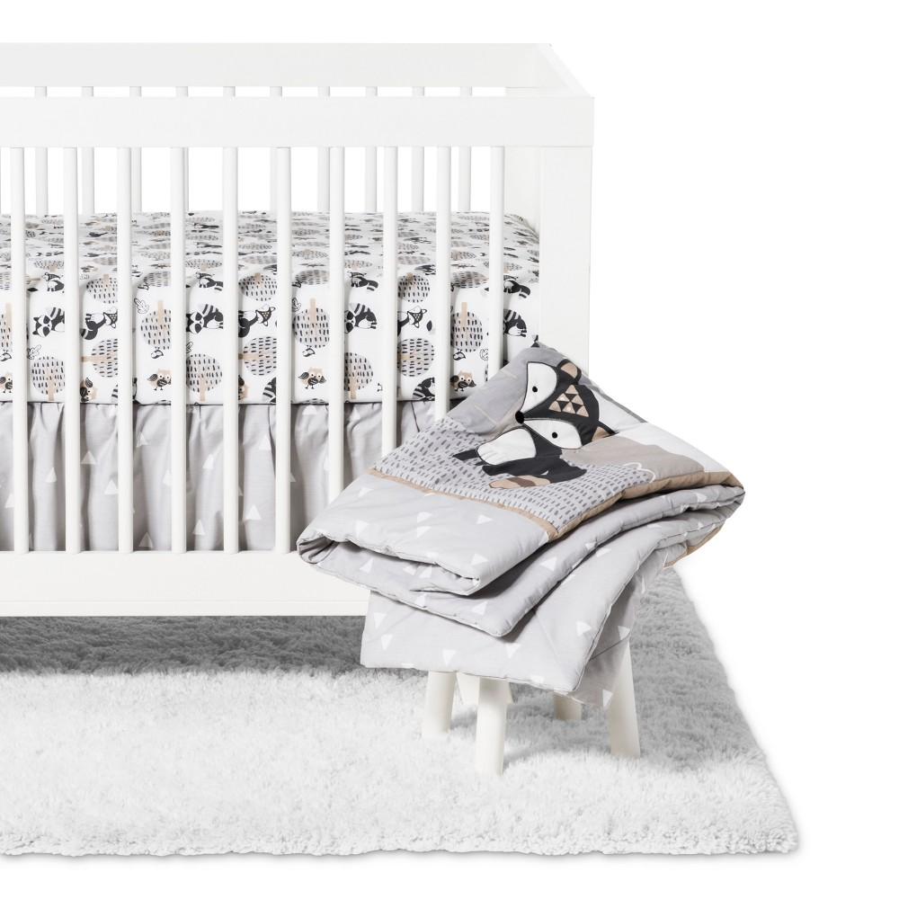 Image of Bedtime Originals 3pc Little Rascals Crib Bedding Set - Cream