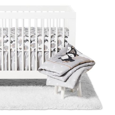 Little Rascals Crib Bedding Set Cream