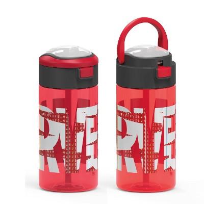 Marvel 18oz Plastic Flex Sip Water Bottle - Zak Designs