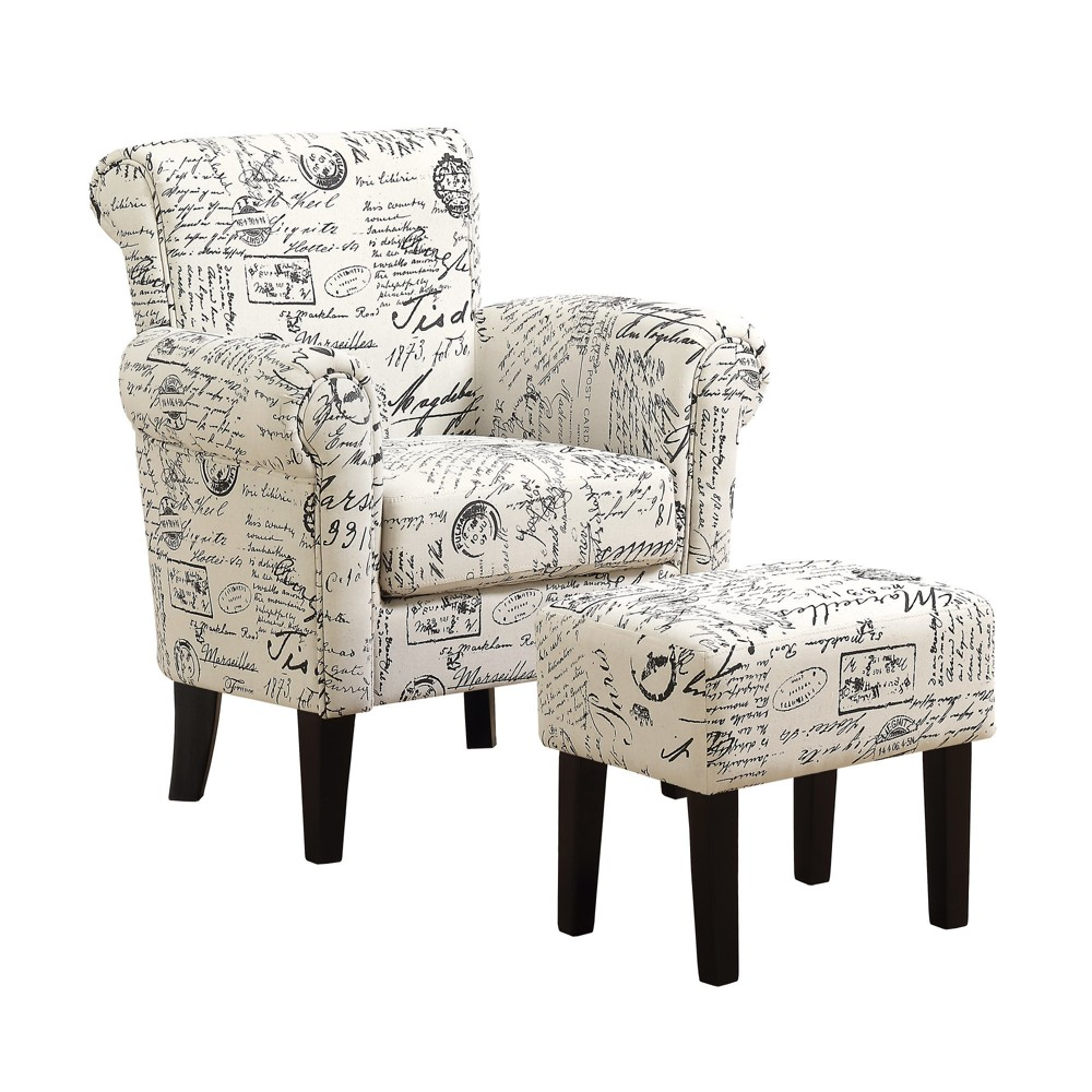 Image of 2pc Accent Chair Set Vintage French - EveryRoom