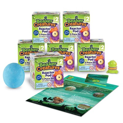 Learning Resouces Beaker Creatures Series 2 6-PACK, Ages 5+
