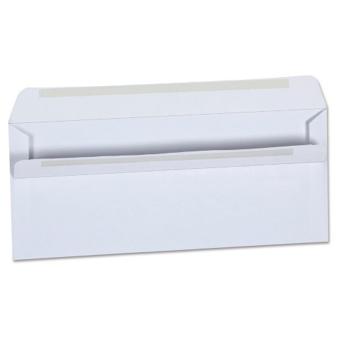 Peel And Seal Envelopes White Universal Office - image 1 of 3