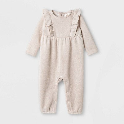 Baby Girls' Sparkle Jumpsuit - Cat & Jack™ Pink 6-9M