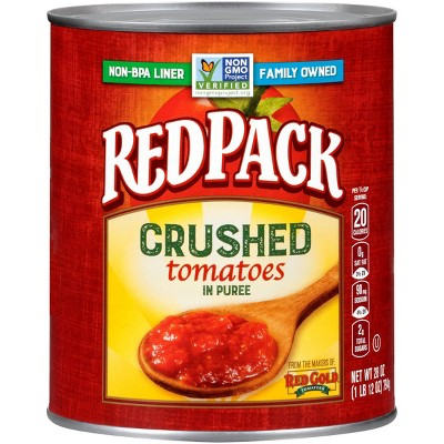 Red Pack Canned Crushed Tomatoes 28oz