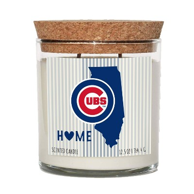 MLB Chicago Cubs Home State Candle