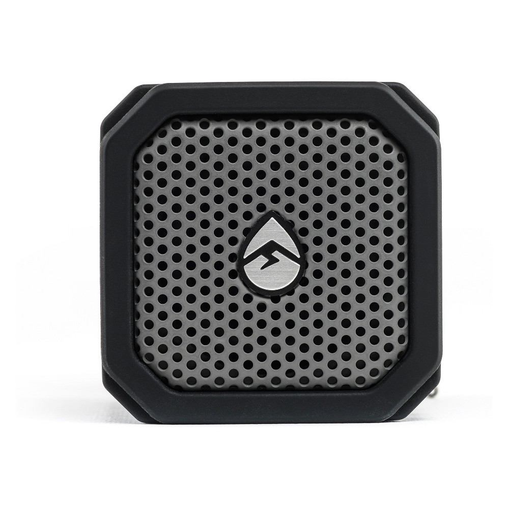 EcoXGear EcoDuo Wireless Speaker + Mount - Black