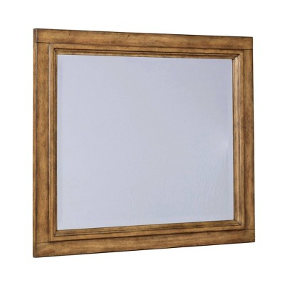 Sedona Landscape Mirror Toffee Brown - Home Styles