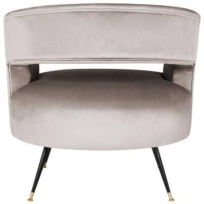 Manet Mid-Century Barrel Chair - Hazelwood Velvet - Safavieh : Target