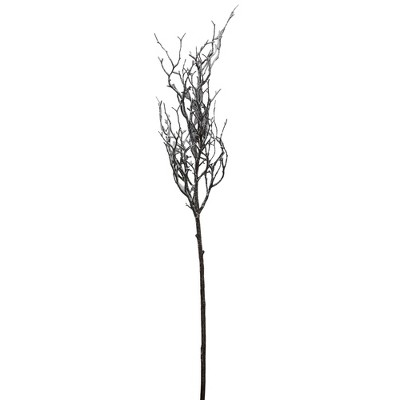 """Northlight 43"""" Brown and White Frosted Artificial Christmas Poplar Tree Branch"""