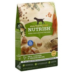 Rachael Ray Nutrish Natural Real Chicken and Veggies Recipe Dry Dog Food