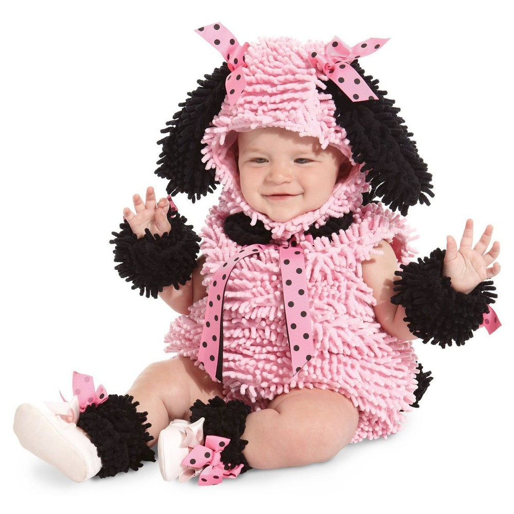 Pink Poodle Baby Costume 12-18 Months, Infant Girl's, Size: 12-18M