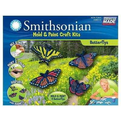 Smithsonian Mold & Paint Craft Kit - Butterflies