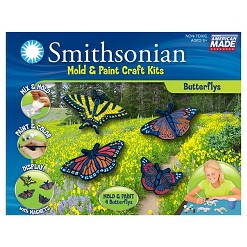 Smithsonian Mold & Paint Craft Kit - Butterflies