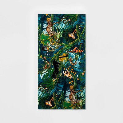 Wild Country Beach Towel Blue/Green - Opalhouse™
