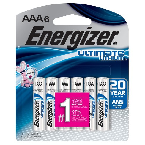 Energizer L92BPF-6 Ultimate Lithium AAA Universal Battery - 6pk - image 1 of 1