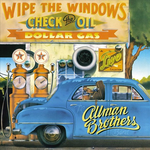 Allman brothers band - Wipe the windows check the oil dollar (Vinyl) - image 1 of 1