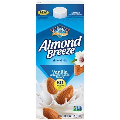 Blue Diamond Almond Breeze Vanilla Almond Milk - 0.5gal