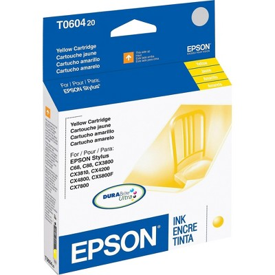 Epson 60 Yellow Ink Cartridge, Standard (T060420) T060420-S