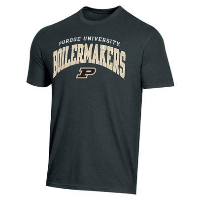 NCAA Purdue Boilermakers Men's Short Sleeve Heather T-Shirt