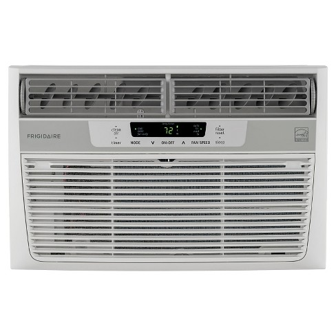Frigidaire - 6000-BTU Window-Mounted Mini-Compact Air Conditioner with Full-Function Remote Control - White - image 1 of 4