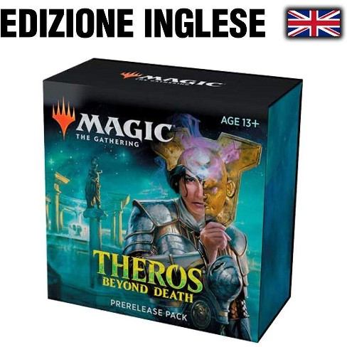Magic The Gathering: Theros Beyond Death Prerelease Pack (Pre-Pelease Promo + 6 Boosters + d20 Spindown Counter) Kit - image 1 of 1