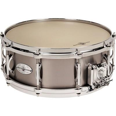 Black Swamp Percussion Multisonic Concert Titanium Elite Snare Drum, 14x5.5 in.