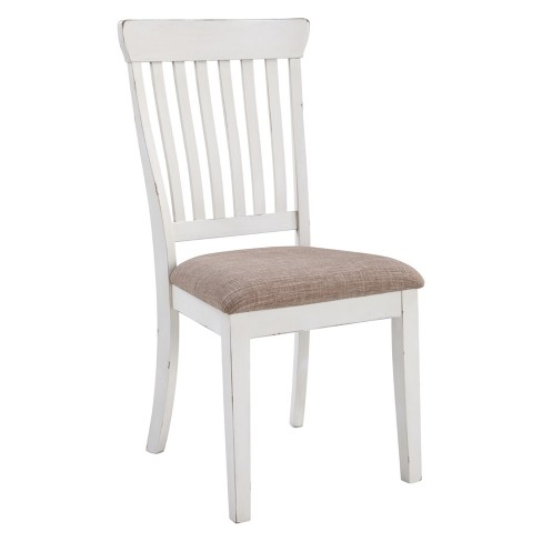 Set of 2 Danbeck Dining Upholstered Side Chair Chipped White - Signature Design by Ashley - image 1 of 1
