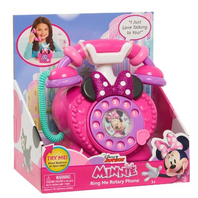 Disney Junior Minnie Mouse Ring Me Rotary Phone
