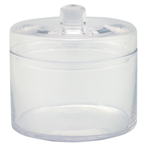 """Diamond Star Glass Apothecary Jar with Lid Clear (6.5""""x6.5"""") - image 1 of 1"""