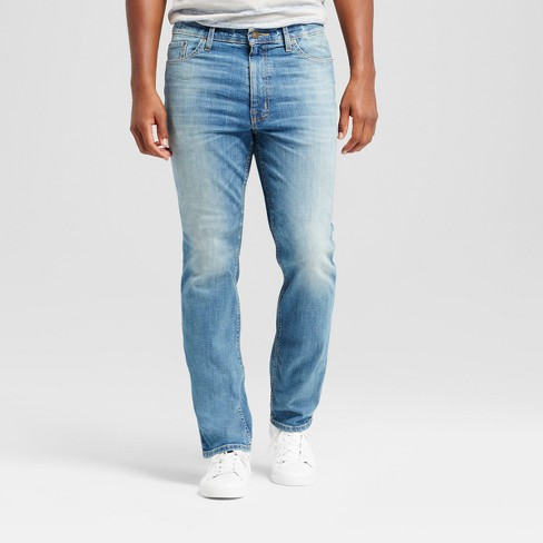 421b733e Men's Athletic Fit Jeans - Goodfellow & Co™ Light Wash : Target