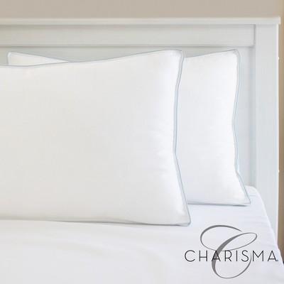 Charisma Gel-Infused Memory Foam Cluster and Gel Fiber Bed Pillow