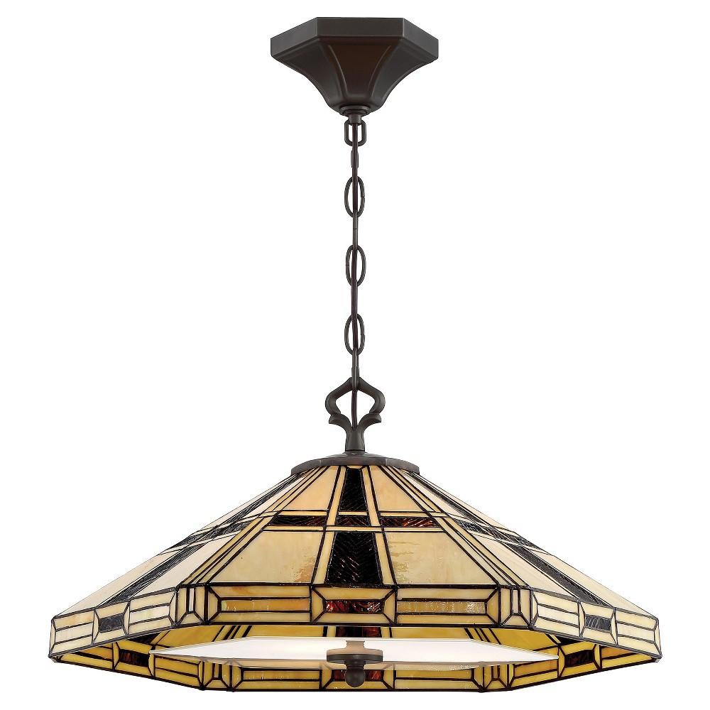 Ceiling Lights Mircea Pendant - Dark Bronze - Lite Source, Dark Bronze/Tiffany