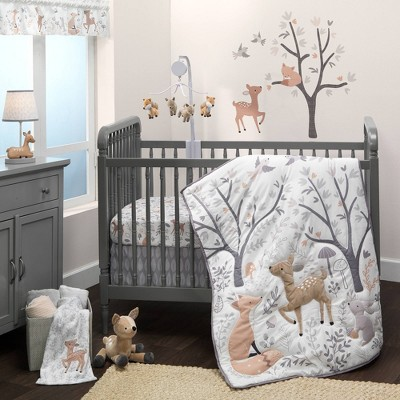 Bedtime Originals Deer Park Crib Bedding Set - 3pc