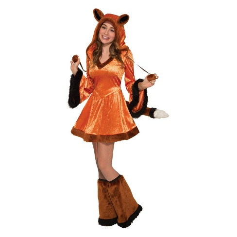 Women's Foxy Halloween Costume - image 1 of 1