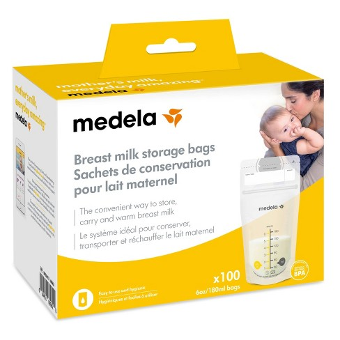 Medela Breast Milk Storage Bags 6oz/180ml - image 1 of 4