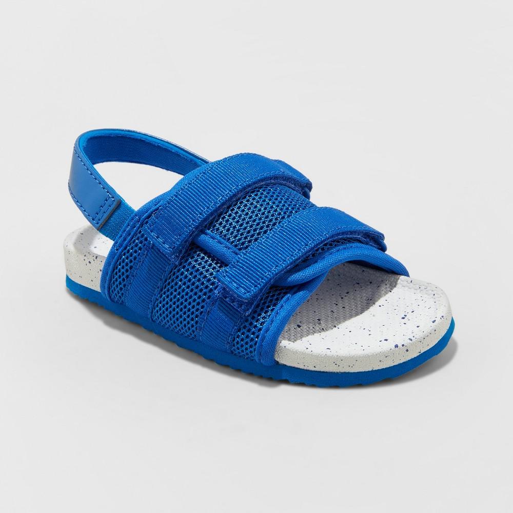 Image of Toddler Boys' Samson Hiking Sandals - Cat & Jack Blue L (11-12), Boy's, Size: Large (11-12)