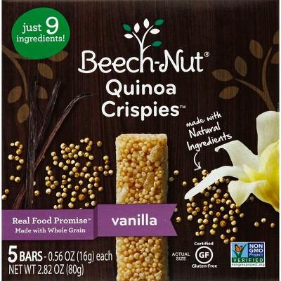 Baby & Toddler Snacks: Beech-Nut Quinoa Crispies
