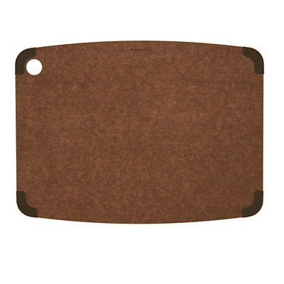 Epicurean 17.5x13 Non-Slip Cutting Board - Natural Brown