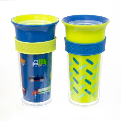 Sassy Tritan & Poly Insulated 9oz Cup - (2pk)