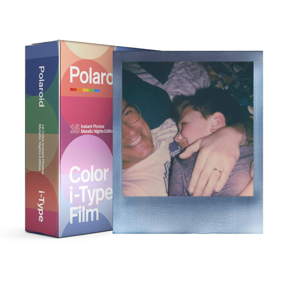 Polaroid Color Film For I Type Double Pack Metallic Color