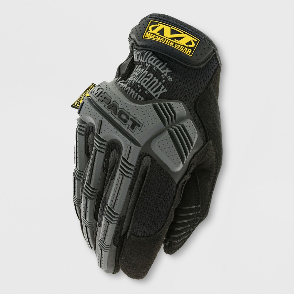 Image of M-Pact Gardening Gloves Black/Gray L - Mechanix Wear, Adult Unisex, Size: Large