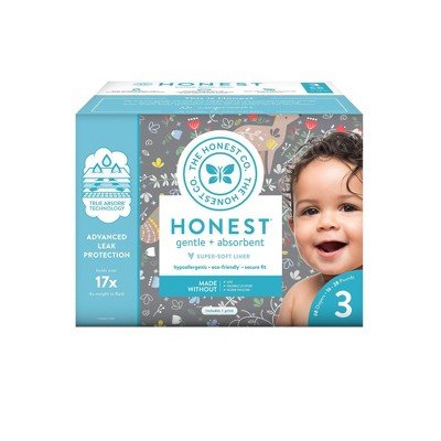 The Honest Company My Dear Disposable Diapers - Size 3 - 68ct