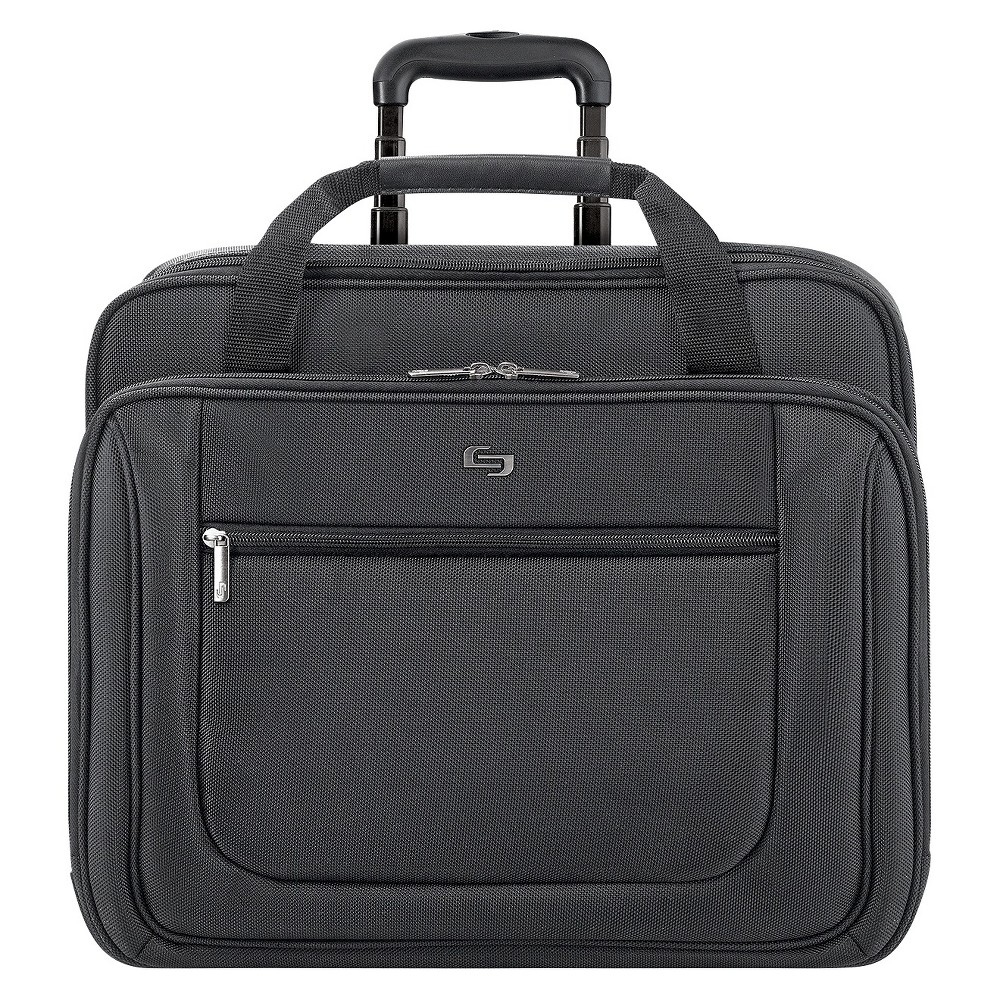 Image of Solo Rolling Laptop Case - Black
