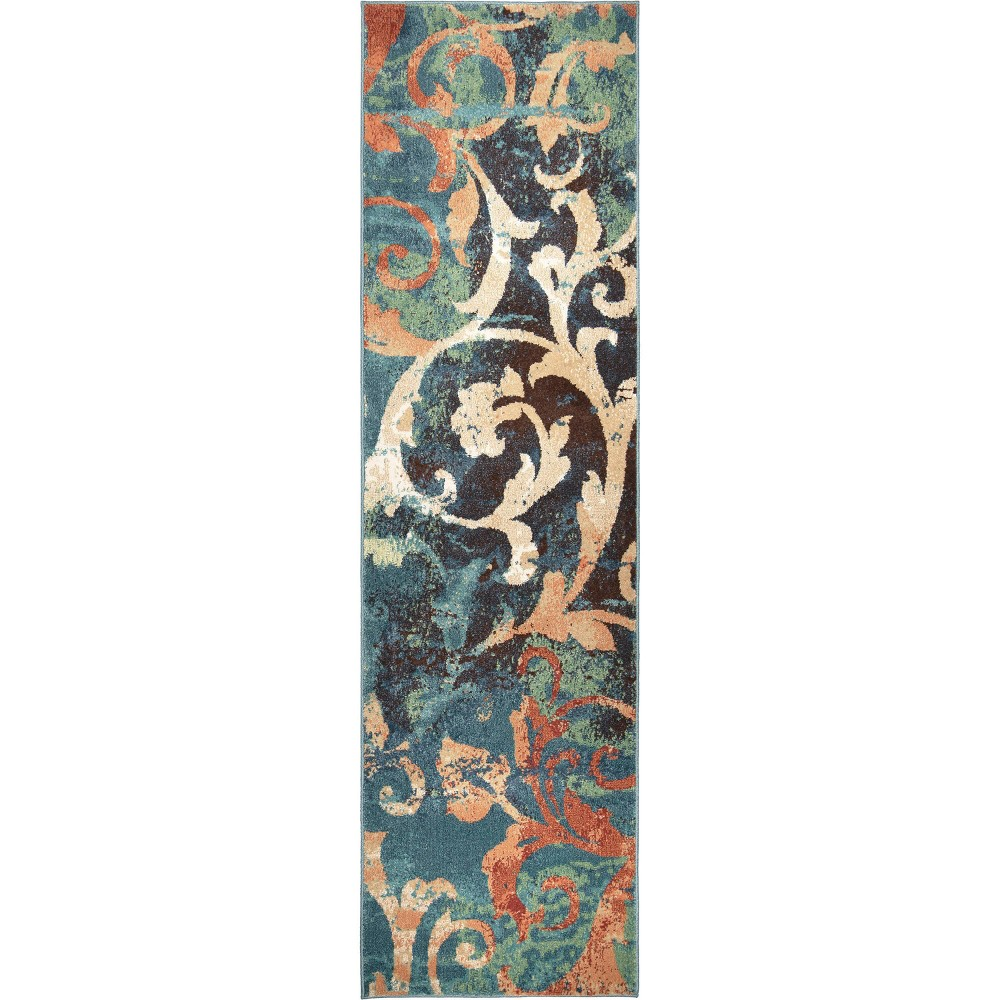 """Image of """"Abstract Woven Runner - (2'3""""""""x8') - Orian"""""""