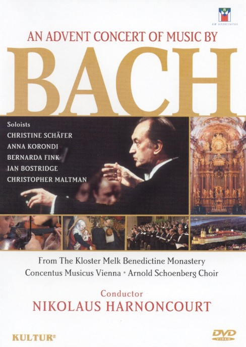 Advent concert of music by bach (DVD) - image 1 of 1