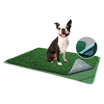 """PoochPad Plus Indoor Turf Dog Potty - Green (16"""" x 24"""")"""