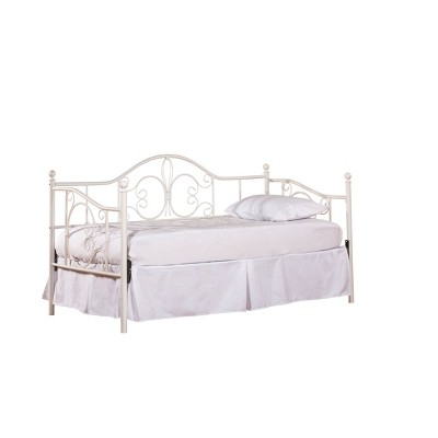 Twin Ruby Daybed with Suspension Deck Textured White - Hillsdale Furniture
