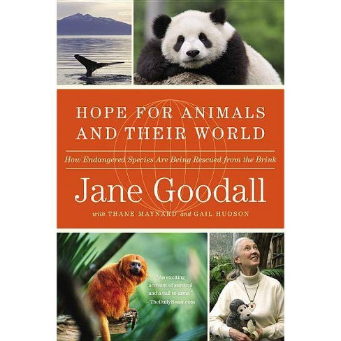 Hope for Animals and Their World - by  Jane Goodall (Paperback) - image 1 of 1